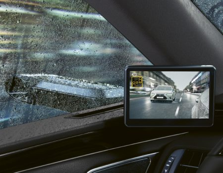 Lexus'tan dijital yan ayna monitörü teknolojisi