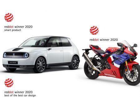 Honda, Red Dot Tasarım Ödülleri 2020'de 3 ödülün sahibi oldu