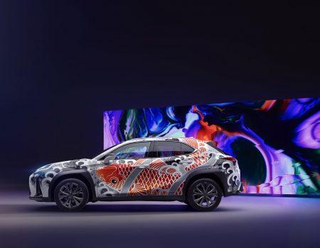 Lexus Dünyanın İlk Dövmeli Aracını Sergiledi