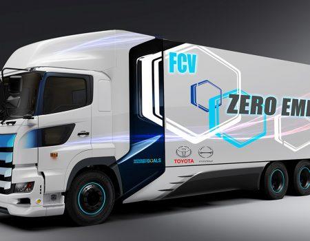 Toyota ve Hino 600 KM Menzilli Hidrojen Yakıt Hücreli Ağır Ticari Araç Geliştiriyor
