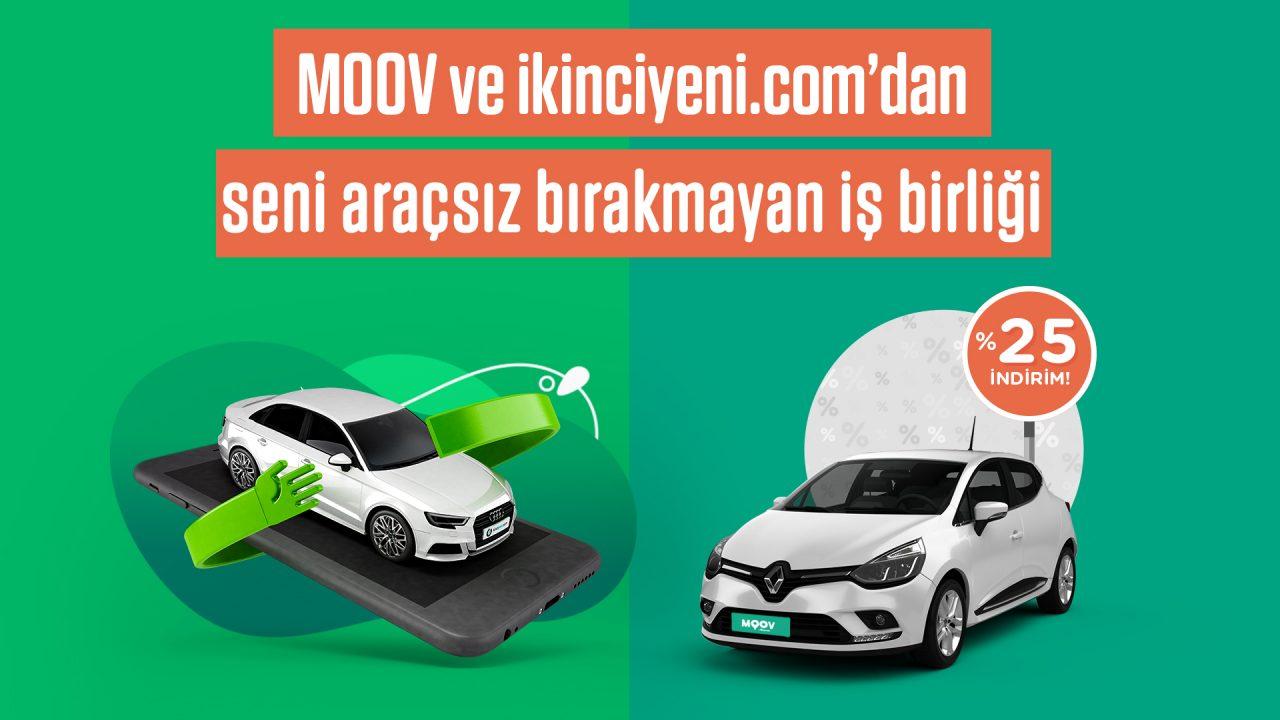 ikinciyeni.com'dan yüzde 25 MOOV by Garenta indirimi