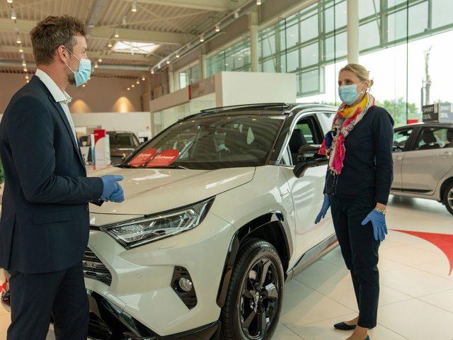 Toyota'nın Tüm Plazalarında En Üst Düzeyde Hijyen İle Müşteriler Ağırlanıyor