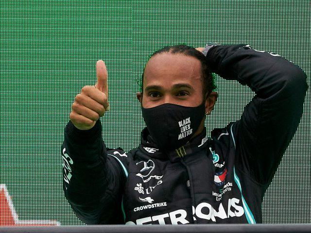 Mercedes-AMG Petronas pilotu Lewis Hamilton'dan Türkiye'deki hayranlarına mesaj