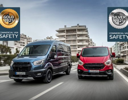 Euro NCAP'ten Ford Transit ve Transit Custom'a 2 Ayrı Ödül