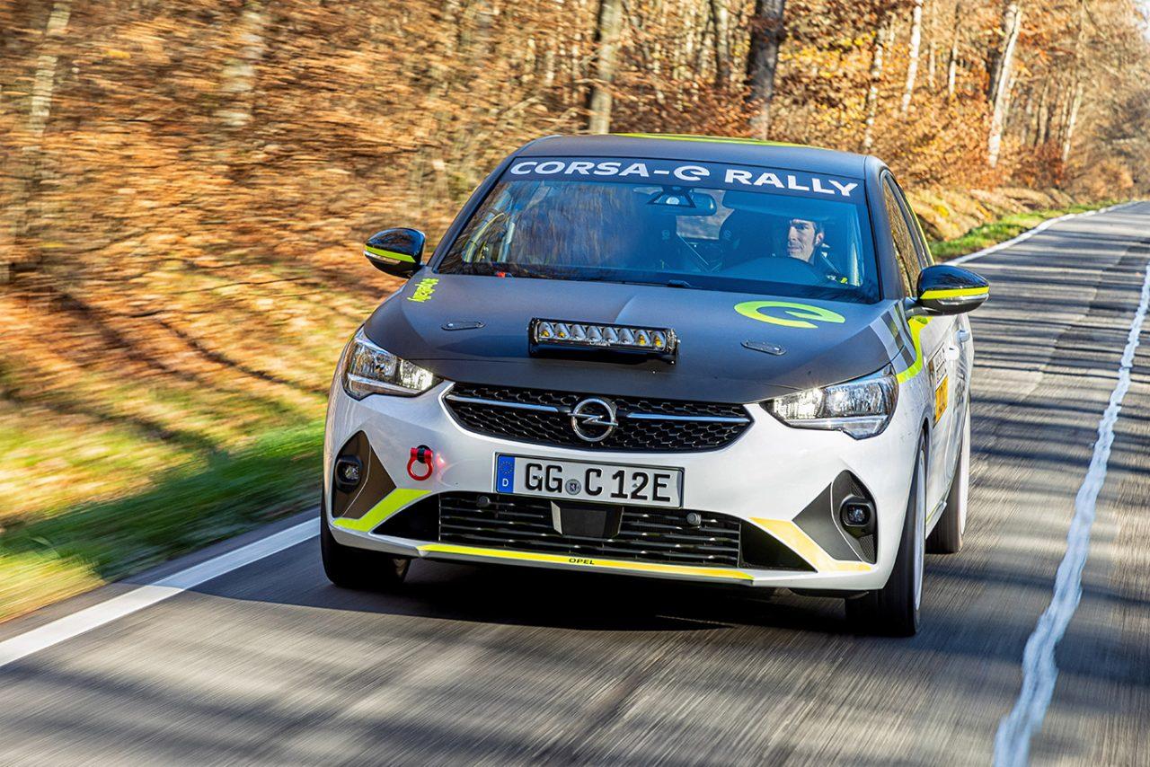 Tamamen elektrikli Corsa-e Rally yarışa hazır