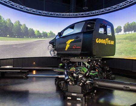 Goodyear, Lastik Geliştirme Çalışmalarını İkinci Dinamik Simülatör ile İleri Taşıyor