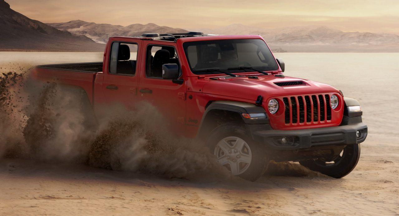 Jeep Gladiator Avrupa'ya Ayak Basıyor