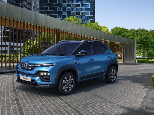 Renault Yeni Crossover Kiger'ı Sahneye Çıkardı