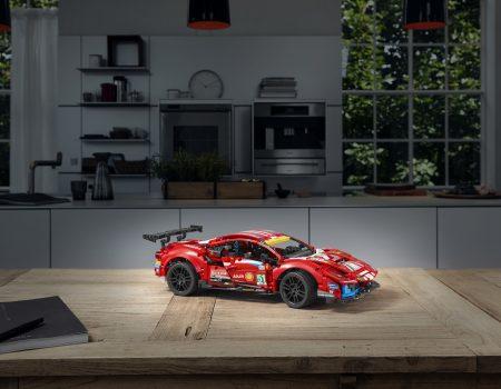 Ferrari İş Birliği İle Üretilen İlk LEGO® Technic™ Modeli Tanıtıldı