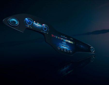 Mercedes-Benz'in Yeni Ekran Teknolojisi Gün Yüzüne Çıktı