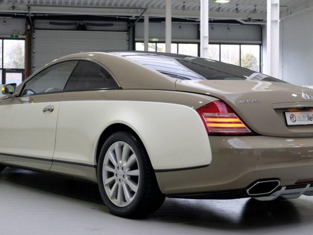 Muammar Kaddafi'nin Maybach Coupe'sine Sahip Olabilirsiniz