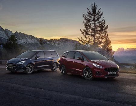 Ford S-Max ve Galaxy, Hibrit Motorlarıyla Avrupa'ya Ayak Bastı