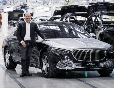 75 Yılda Üretilen 50 Milyonuncu Mercedes-Benz Otomobili Maybach S-Serisi Oldu