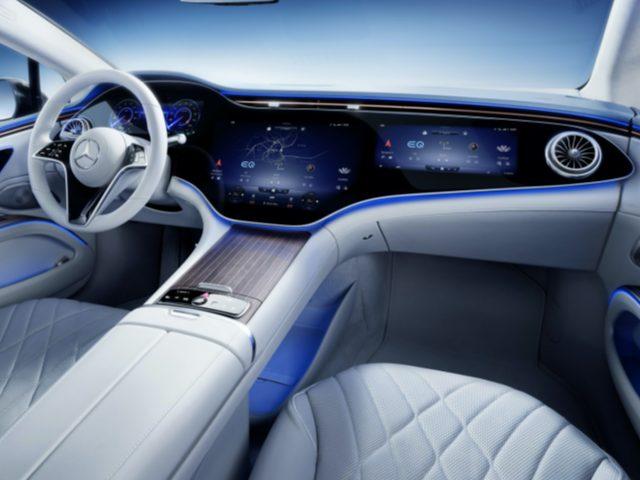 Mercedes-Benz EQS'nin Kabin Detayları Paylaşıldı