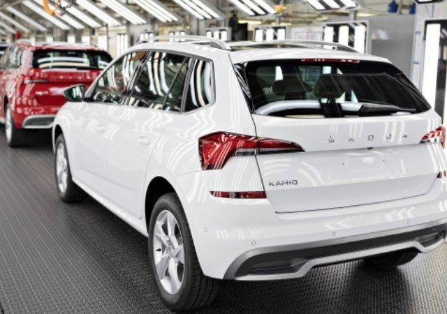 Škoda İki Milyonuncu SUV'unu Üretti