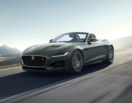 Yeni Jaguar F-TYPE Heritage 60 Edition İkonik Jaguar E-TYPE'ın 60'ıncı Yılını Kutluyor