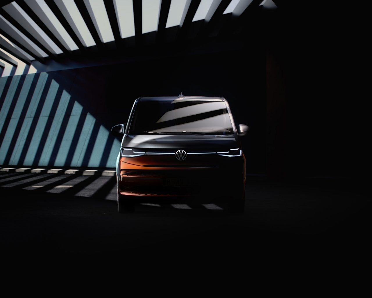 Yeni Nesil VW T7 Multivan'dan İpuçları Gelmeye Devam Ediyor