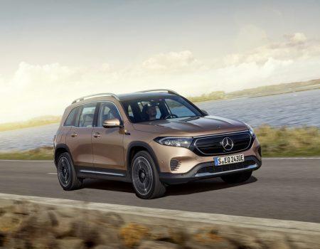 Mercedes'in Elektrikli SUV'u EQB Tanıtıldı