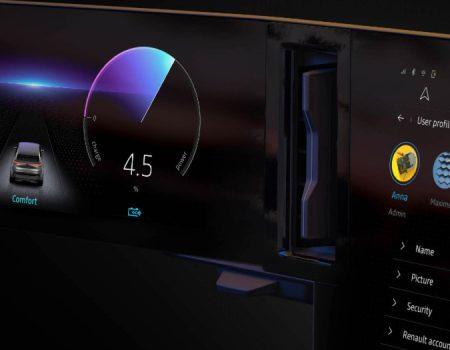 Renault Elektrikli Megane İçin Dijital Kokpitini Tanıttı